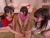 【エロVR】妹が家でしていた女子会の実態はエッチな女王様ゲーム!