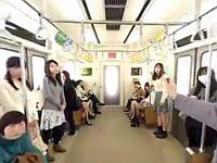 【エロVR】時間停止男が現れた!電車内の女性たちは不可抗力で痴漢されまくり!