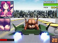 東方projectの紅美鈴(ホン・メイリン)が種付けプレスで犯されながらカーレースに挑戦するエロアニメ