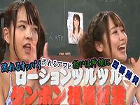 AV女優がマ●コの締りの良さを競い合うタンポン相撲対決!!