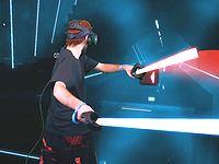 スターウォーズのライトセーバーを使ったVRリズムアクションゲームが面白そう!