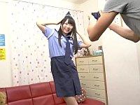 グラビア撮影のつもりがカメラマンに食われてしまうアイドル志望の女の子