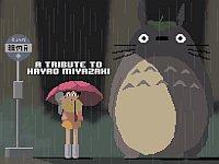 【アニメ】ジブリの世界が好きすぎてピクセルアート化してしまった作品たちをご覧ください