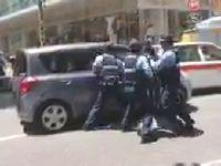 【修羅の国】福岡で逃走中の盗難車が警察官に取り押さえられる逮捕劇!