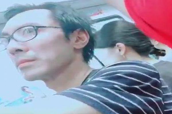【閲覧注意】電車で目撃された痴漢男の目がトラウマ級に怖い件について...