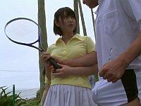 今年の夏はいつもと違う!テニス部男女合同合宿でエッチなハプニング!