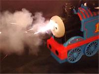 機関車ならぬ機関銃トーマスを作ってみたよ!