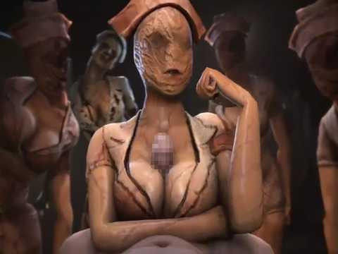 【エロアニメ】サイレントヒルのナースがヌイてくれる動画が怖いけどエロいwww