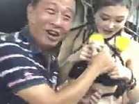 ビキニ女性にパイ揉み&手マンできる台湾のレストランがエロすぎ!!