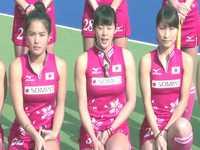 女子ホッケーとかいうマイナースポーツのユニフォームがエッチゾ~www