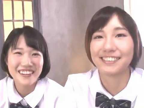 姉妹みたいな20歳の真正レズカップルがAVデビューで公開生プレイ!