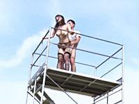 露出性癖の女優ましろ杏さんが自ら立案する野外露出プレイ