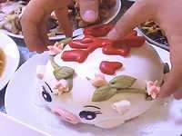 【中国】旧正月のごちそうに出てきた豚まんが見た目も中身も可愛すぎるwww