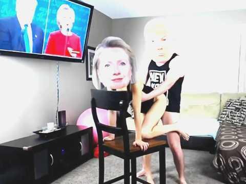 トランプ大統領がヒラリークリントンとSEXしてるスキャンダル映像が流出www
