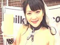 【日高ゆりあ】精飲中毒女がジョッキ1杯分のザーメンをゴックンしてる精子動画がエグい!!