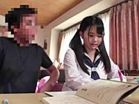 家庭教師の職権乱用!巨乳女子校生を子供部屋で犯すロリコン