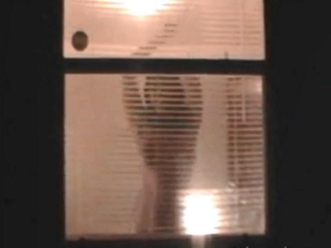 【巨乳女盗撮】友人宅の向かいに住んでいるデカパイ女を覗き見