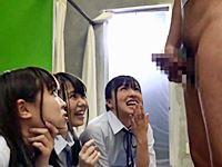 女子校生の下着盗撮がバレてオナニー強要&視姦されるドМ教師