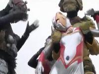 【特撮】巨大ヒロインのウルトラウーマンが怪獣に力負けして公衆の面前で陵辱されるッ!!