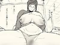 【エロ漫画】「1000円カットのおネエさんにスいてもらう本。プラス(越山弱衰)」ヘアカットもフェラも中出しも極上の巨乳理容師
