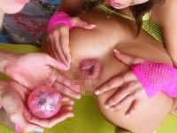 【無修正】金髪美女のアナルで遊ぶ百合お姉さんたちのレズが激エロ