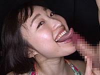 【長い舌】ベロフェチ必見!ベロ長の小川ひまりによる『あ~やらしい!66 ベロ長の変態精飲娘登場』