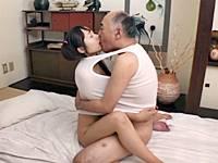 【ロリ爺相姦】パイパンJC孫娘とイチャラブ中出しセックスする祖父