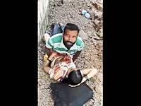 【ガチNTR】インド人の不貞妻が野外不倫セックス中に突撃してみた!