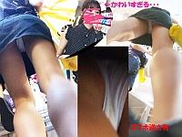 【わんぱく液さんのロリ系パンチラ盗撮】可愛すぎるJS・JC・JK・JDを逆さ撮り!