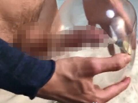 オナホールを自作する男たちのDIY動画
