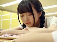 部活動で落ち込んだ極細貧乳美少女をイケメンが慰める介抱エッチ